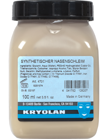 Synthetic Nasal Mucus | Kryolan - Professional Make-up