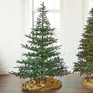Un-lit Noblis Fir Artificial Christmas Tree | Firs, Christmas tree ...