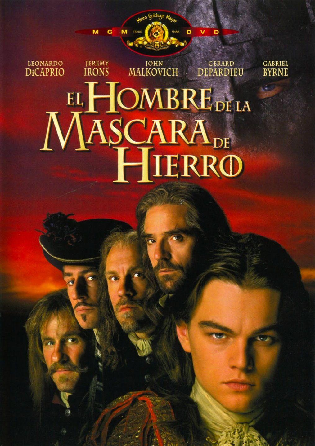 El Hombre De La Mascara De Hierro Peliculas Cine Peliculas