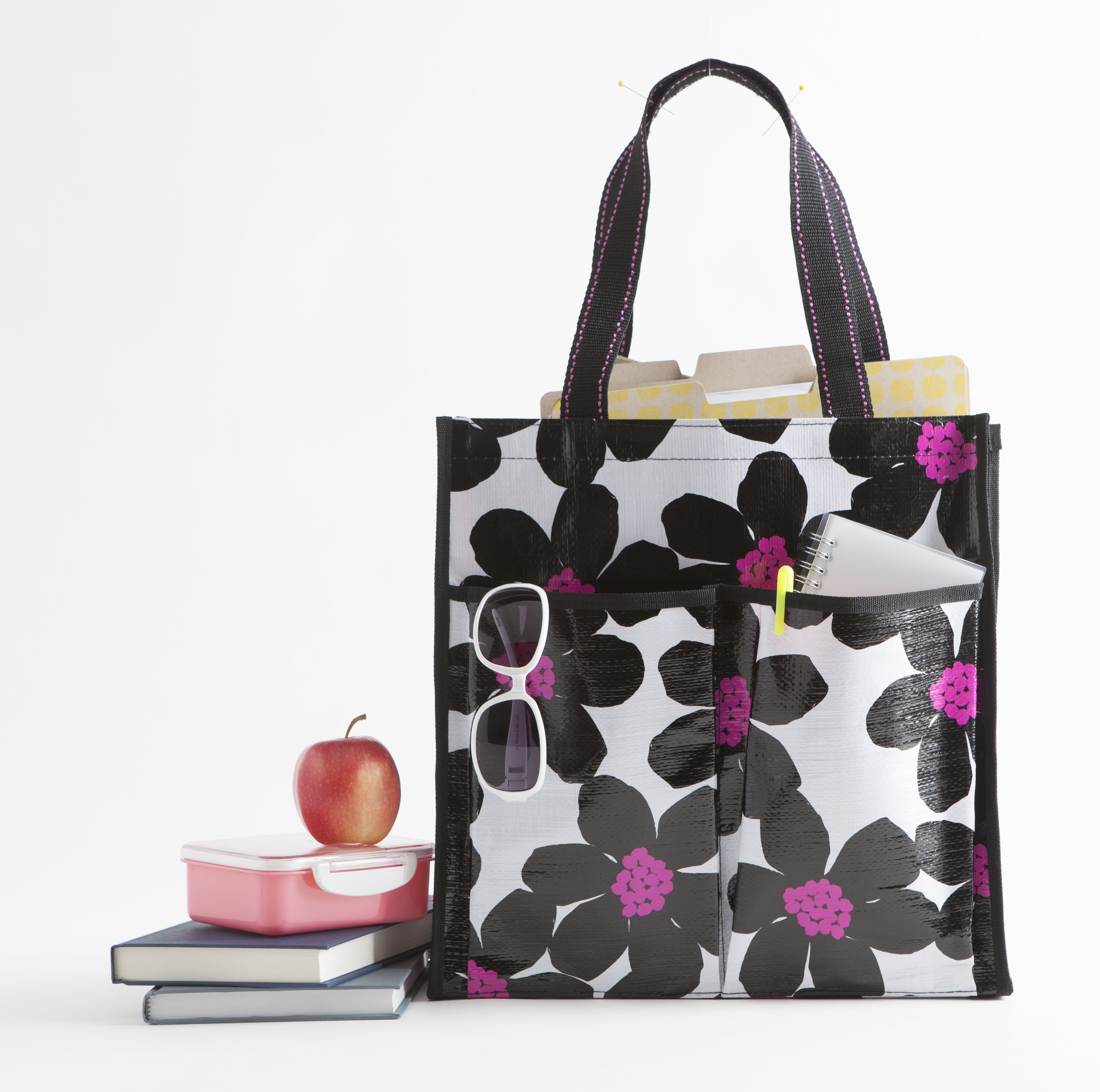 The six pocket tote is part of the Mixed Bag Designs collection of ...