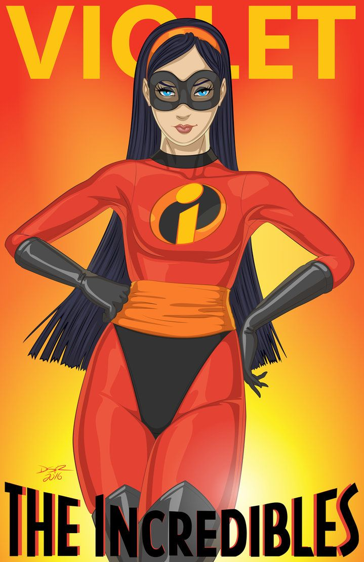 Violet Grown Up - The Incredibles Fan Art by thek0n on DeviantArt