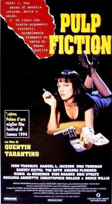 Pulp Fiction 1994 Film Pulp Fiction Pulp Fiction Quentin Tarantino