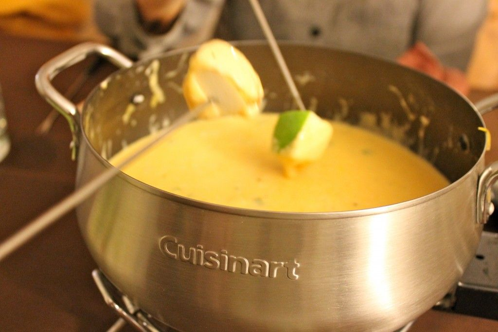 Melting Pot Cheese Fondue #fondue