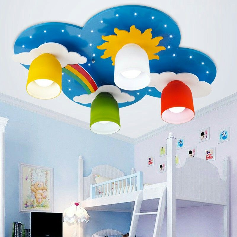 Lighting Comfort In The Childrens Room Childrens Room Lighting Modern Children Bedroom Ceiling Lamps Mu Bedroom Ceiling Light Ceiling Lights Kids Room Lighting