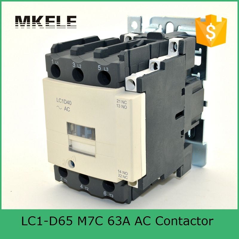 LC1-D65 Q7C 63A ac contactor ac motor control contactor