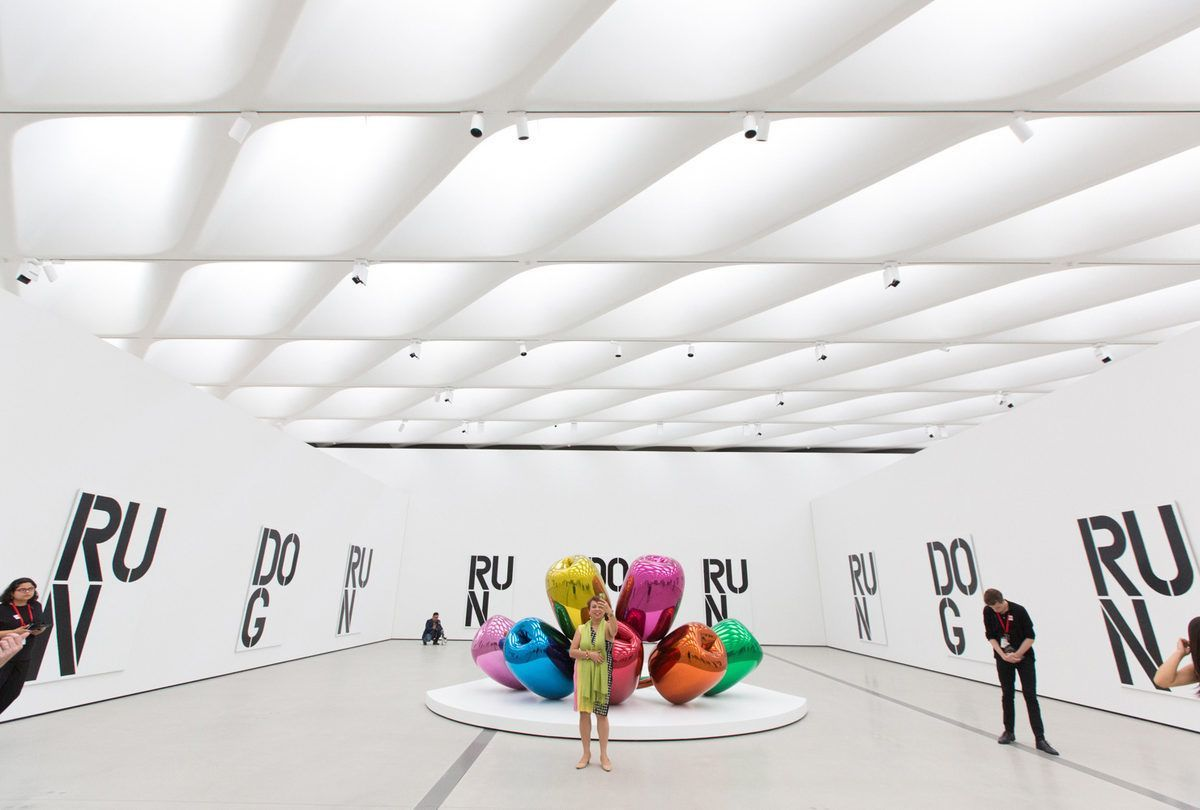 The Broad Art Museum///Grand Ave. & Second St., Los Angeles, CA 90012