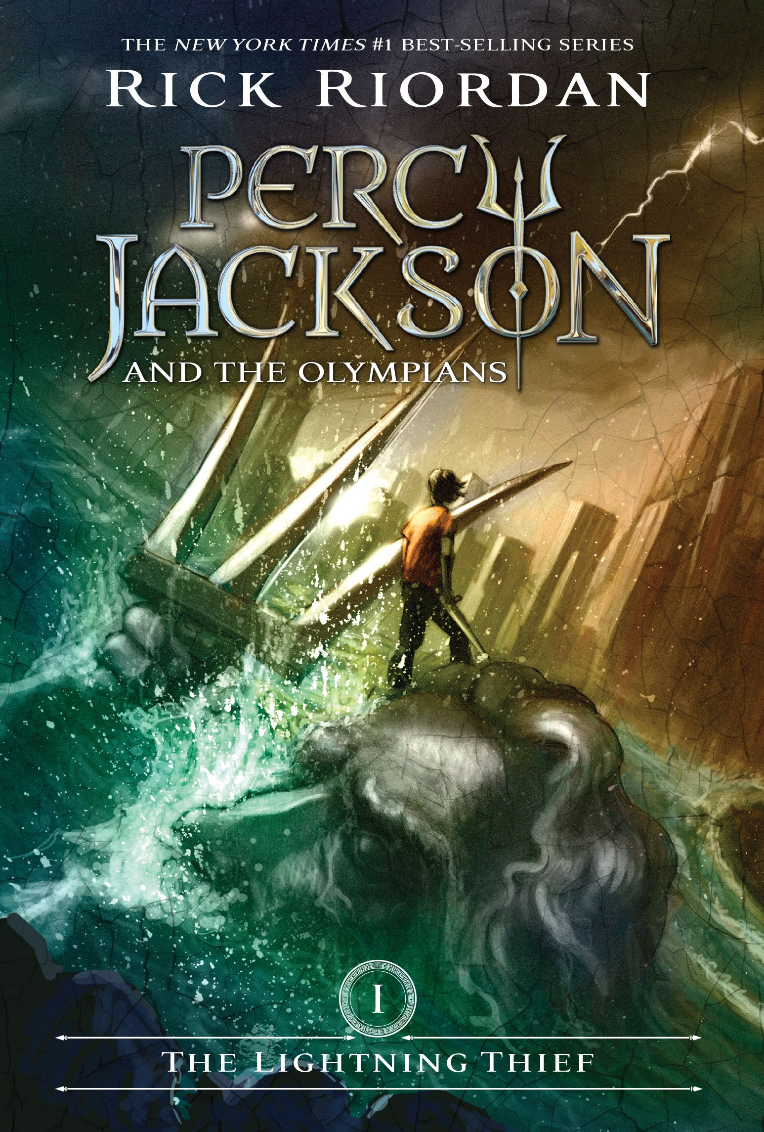 Percy Jackson And The Olympians Book One The Lightning Thief The Lightning Thief Percy Jackson Books Percy Jackson