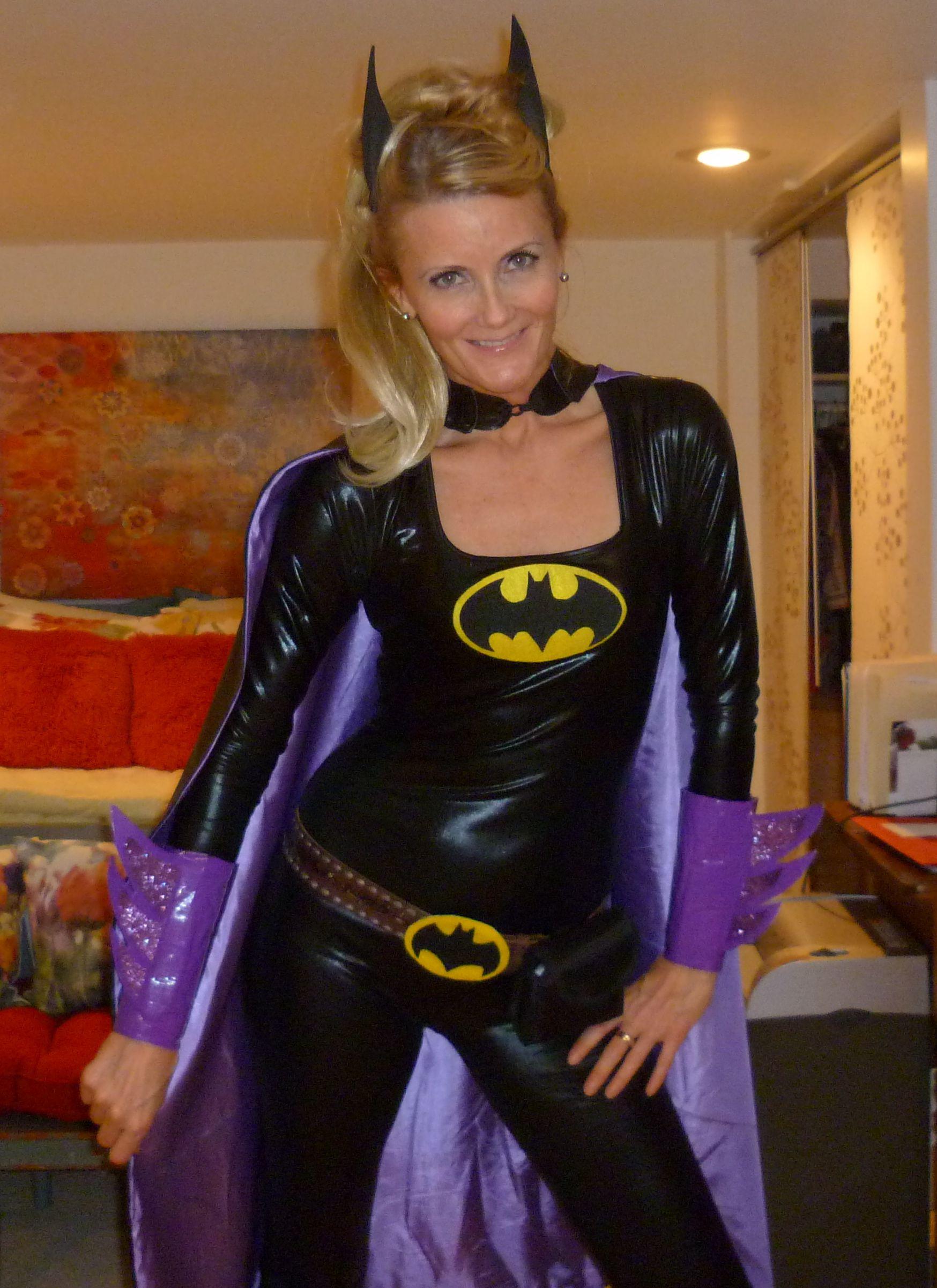 My 2012 homemade batgirl costume!  sc 1 st  Pinterest & My 2012 homemade batgirl costume! | Halloween | Pinterest | Batgirl ...