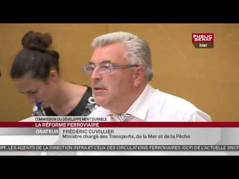 La Politique En séance - Projet de loi portant réforme ferroviaire - Audition de M. Frédéric Cuvillier - http://pouvoirpolitique.com/en-seance-projet-de-loi-portant-reforme-ferroviaire-audition-de-m-frederic-cuvillier/