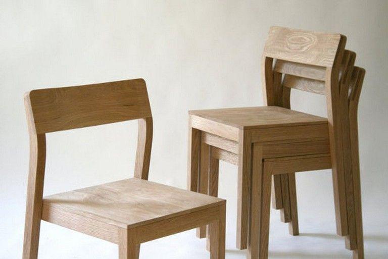 25 Incredible Handmade Oak Wood Chair Designs For Dining Room