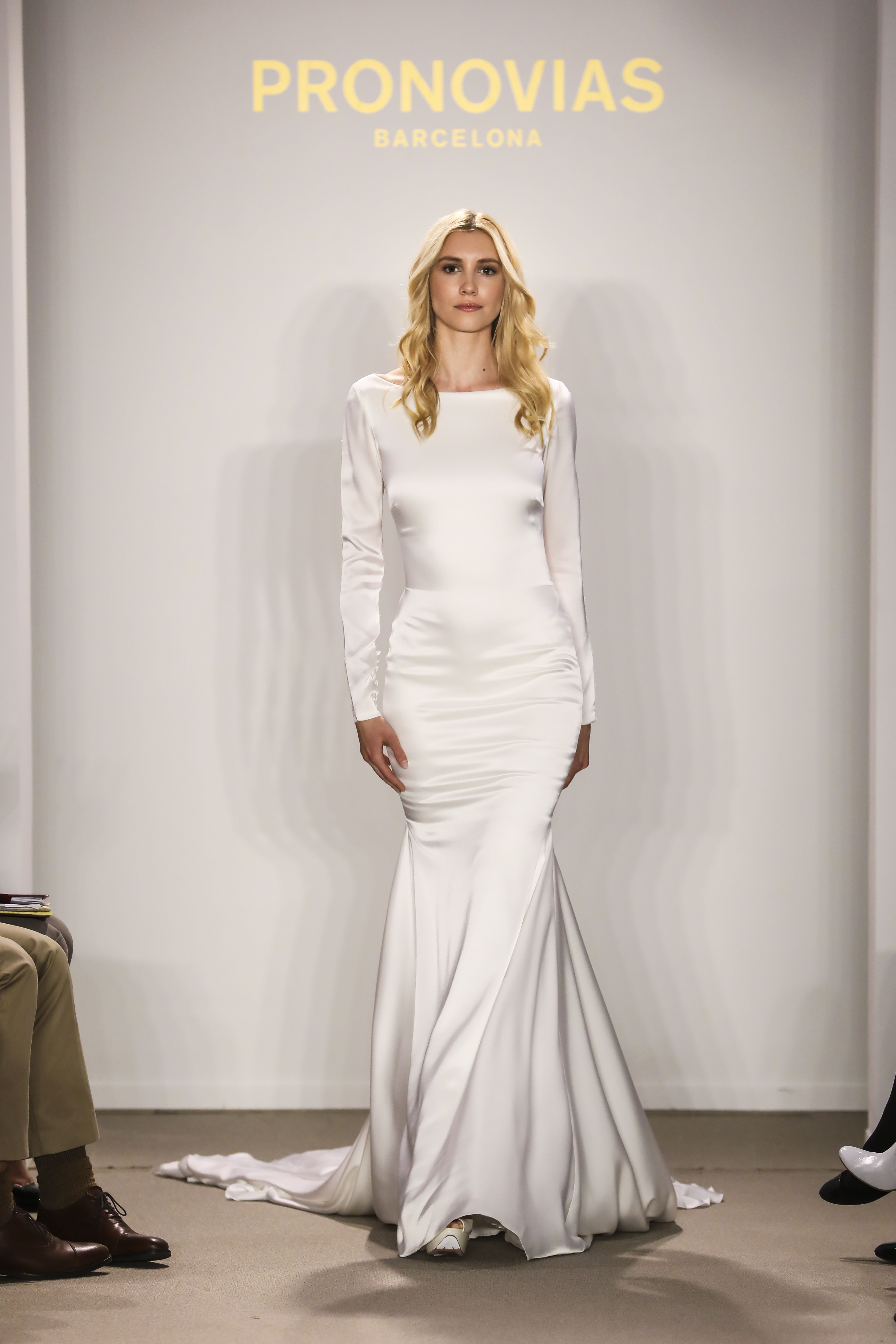 rachel from the atelier pronovias 2018 preview collection