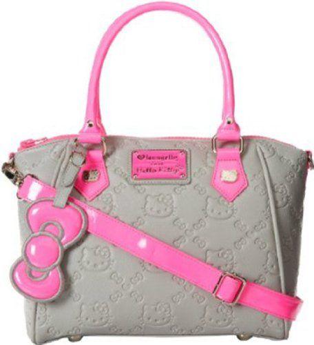 HELLO KITTY NEON PINK SPLASH EMBOSSED BAG - http://handbagscouture.net/brands/hello-kitty/hello-kitty-neon-pink-splash-embossed-bag/