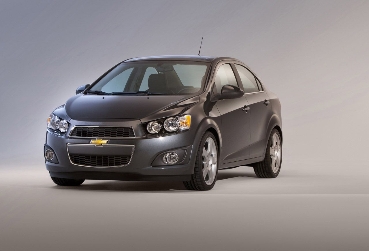 2012 Chevy Sonic Prices To Start At 14 495 Chevrolet Sonic