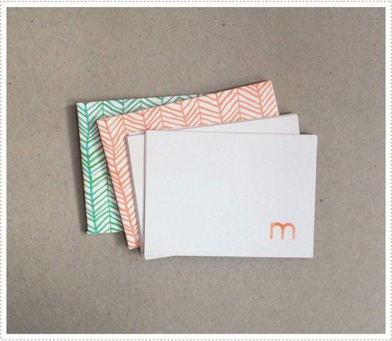 Printable Envelopes by mer mag