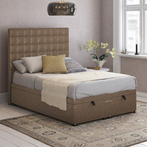 Miraculous Canora Grey Hart Bridgeholme Upholstered Ottoman Bed In 2019 Alphanode Cool Chair Designs And Ideas Alphanodeonline