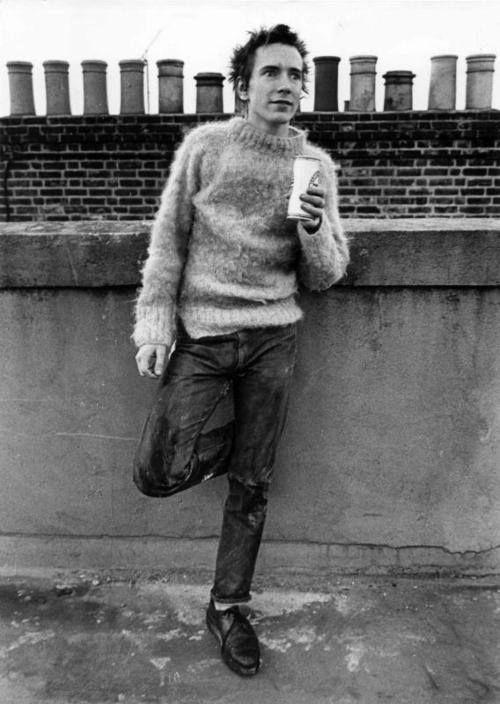 Image result for john lydon jumper