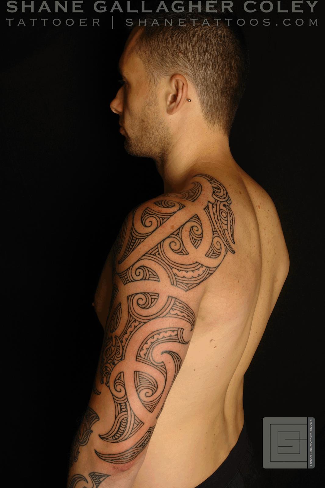 b1560bdcd SHANE TATTOOS: Maori Sleeve Chest Ta Moko/Tattoo | Projects to Try ...