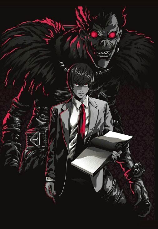 Visit for everything Death Note