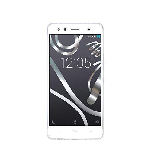 bq Aquaris X5 – Smartphone libre de 5″ (WiFi, Bluetooth, 2 GB de RAM, 16 GB de memoria interna, Android 5.1), blanco y plateado   Your #1 Source for Mobile Phones, MP3 Players & Accessories