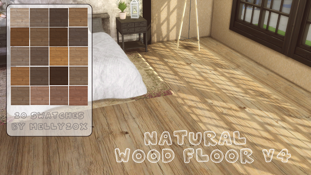 Sims 4 Cc S The Best Natural Wood Floor V4 By Melly20x
