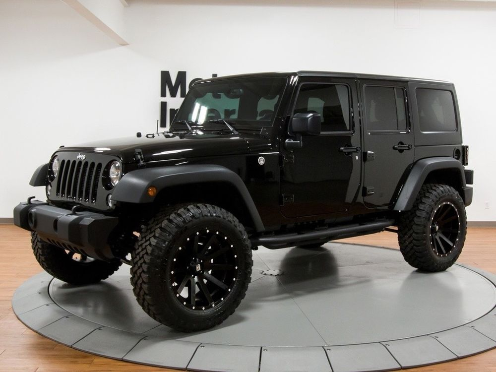 eBay 2017 Jeep Wrangler Unlimited Sport S 2017 Jeep