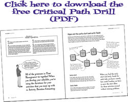 Critical Path method drill (pdf to download) | ||| PMP | Project