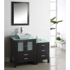Virtu Ms 4446 Brentford 46 Bathroom Vanity In Espresso Home
