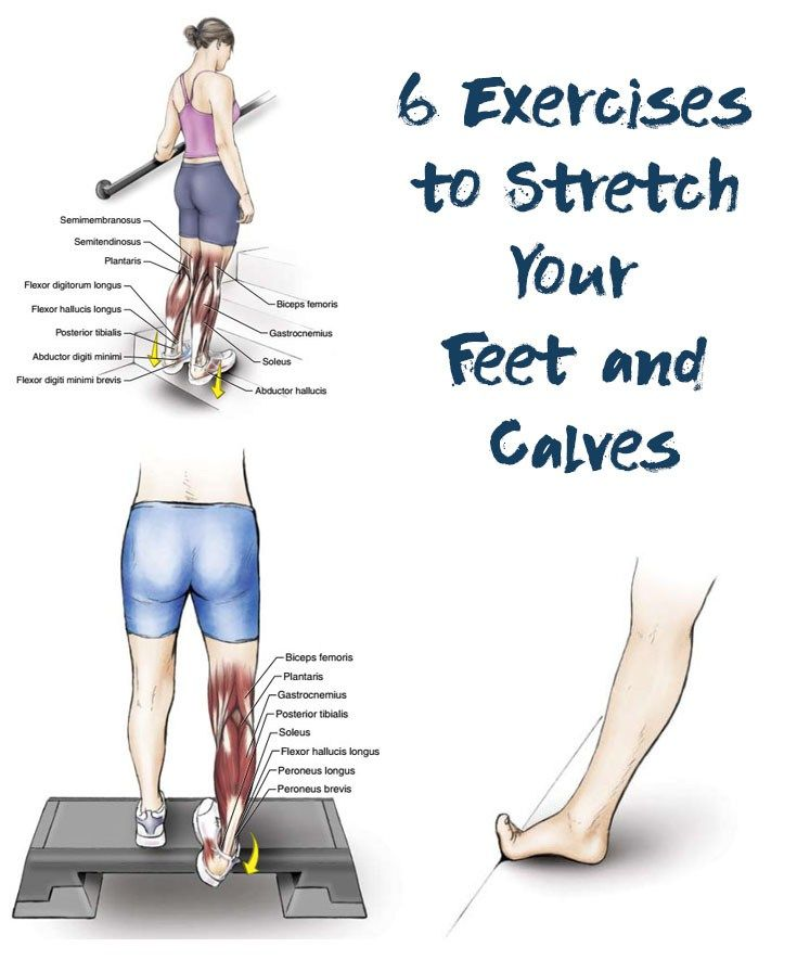 6 Exercises To Stretch Your Feet And Calves Everyday Activities