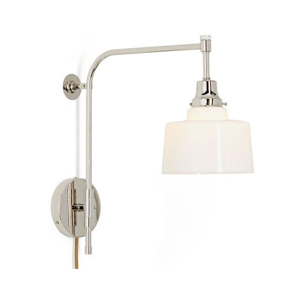 eastmoreland 2 1 4 swing arm pin up sconce 308 liked on