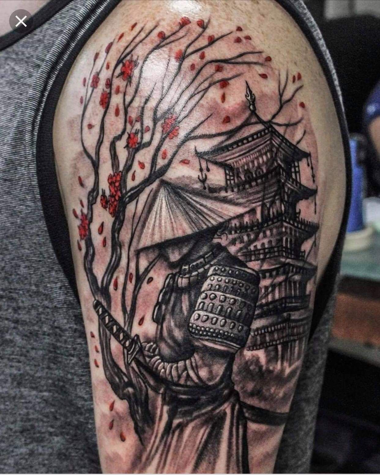 Pin by Santiago Fabian on tattoos | Samurai tattoo sleeve, Japanese tattoo,  Samurai tattoo design
