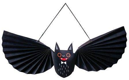Hyde and Eek! Boutique Halloween Paper Bat Wall Decor | Hallows eve ...