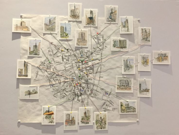 Jane Northcote: Urban Sketching Towers Project