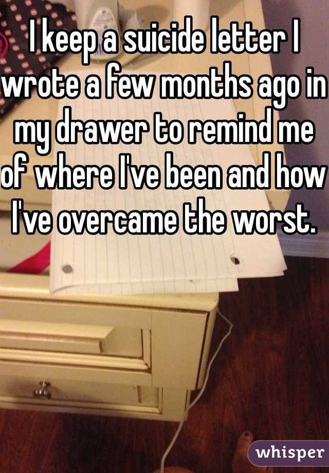 Whisper App. Confessions from people with suicidal tendencies.
