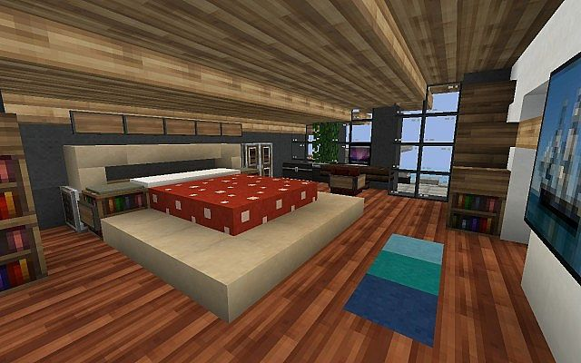 Master bedroom minecraft ideas bedroom decor images part for Bedroom ideas on minecraft
