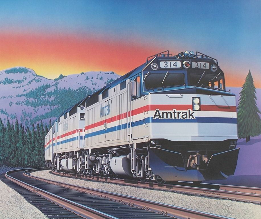 amtrak trains The National Railroad Passenger