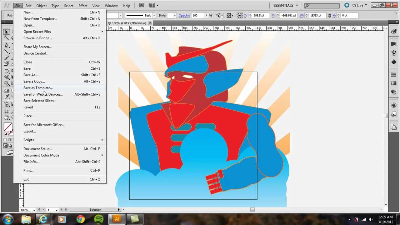 Two Cropping Methods in Illustrator Adobe Illustrator