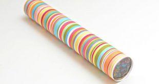 Como Fazer Artesanato Com Rolo De Papel Aluminio Com Imagens