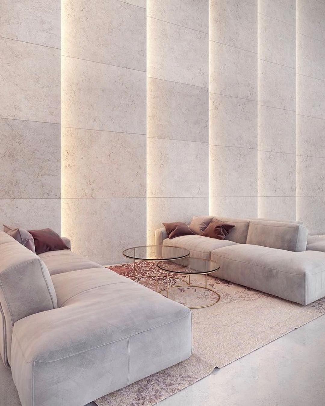 Wohnzimmer-Einrichtung (Interior Design) In Den Neutralen