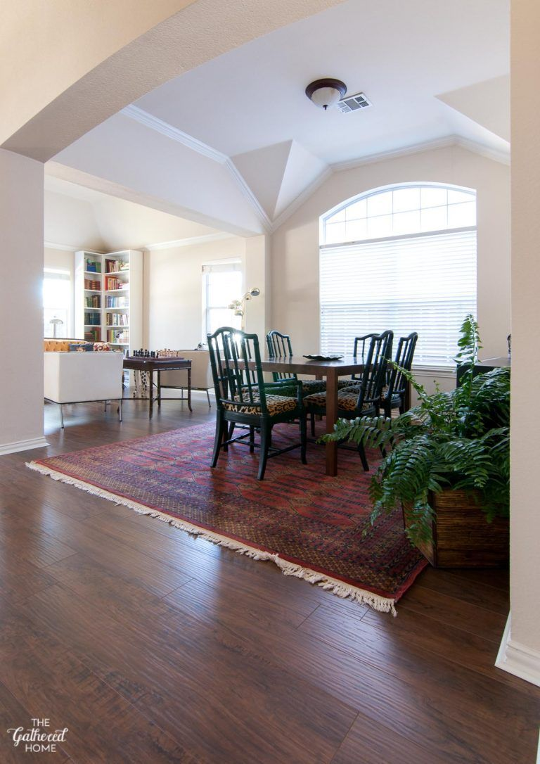 Secret Project REVEAL DIY Laminate Flooring with Select
