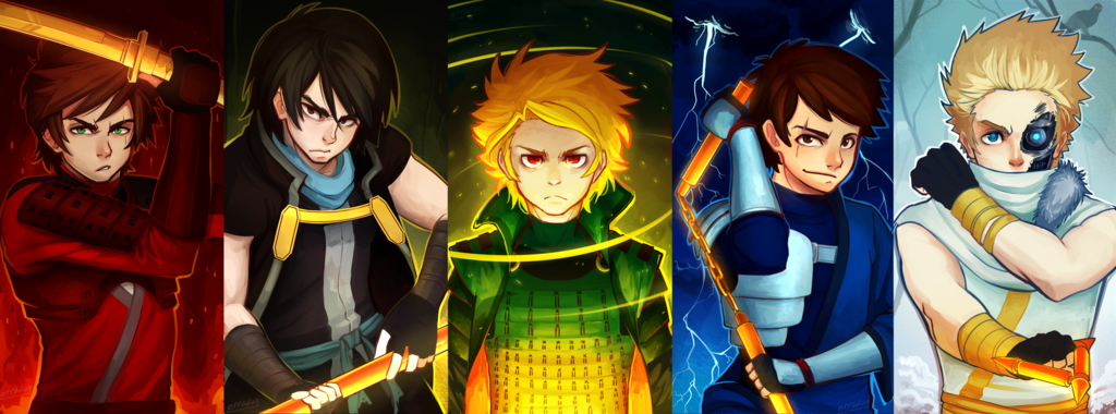 I love this pictureSO much  Ninjago  Protect the Chosen
