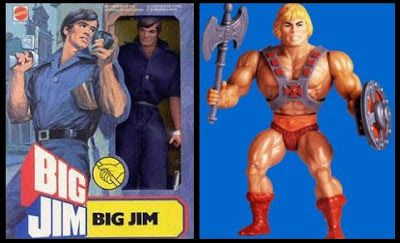 BigJim toy line/ He-man toy line