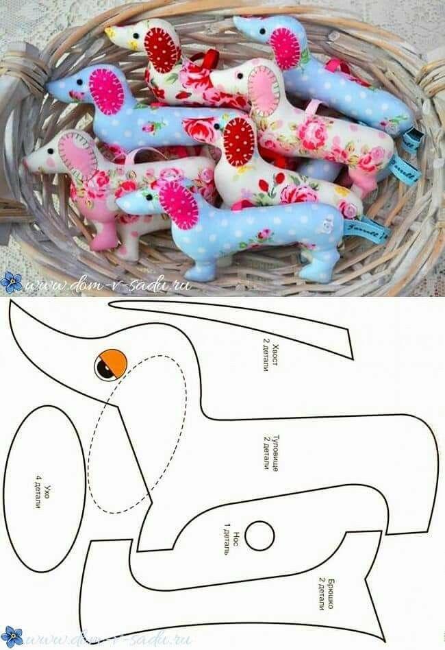 Dog art | šití | Pinterest | Muñecas, Costura y Moldes