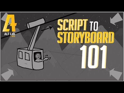 Script to Storyboard 101 - YouTube Flimmaking Pinterest - script storyboard