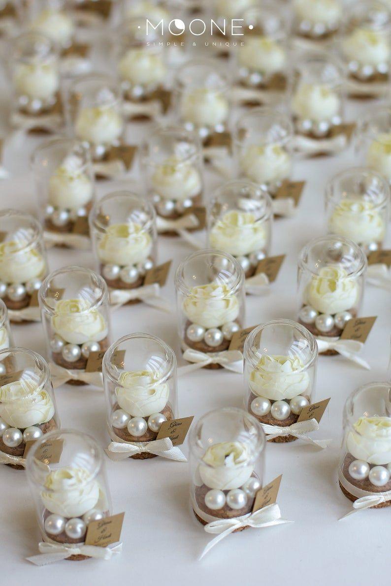 10pcs Rose Dome Glocke Glas Gefälligkeiten Hochzeit