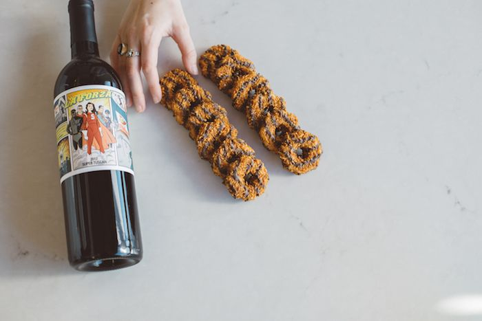 Skip the Milk // We Paired Girl Scout Cookies with Wine! - The Juice | Club W  Samoas / / Super Tuscan