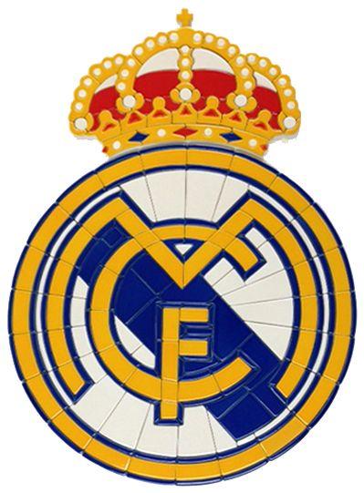 Mcf Soccer Mosaic Crest Real Madrid Madrid Tile Murals