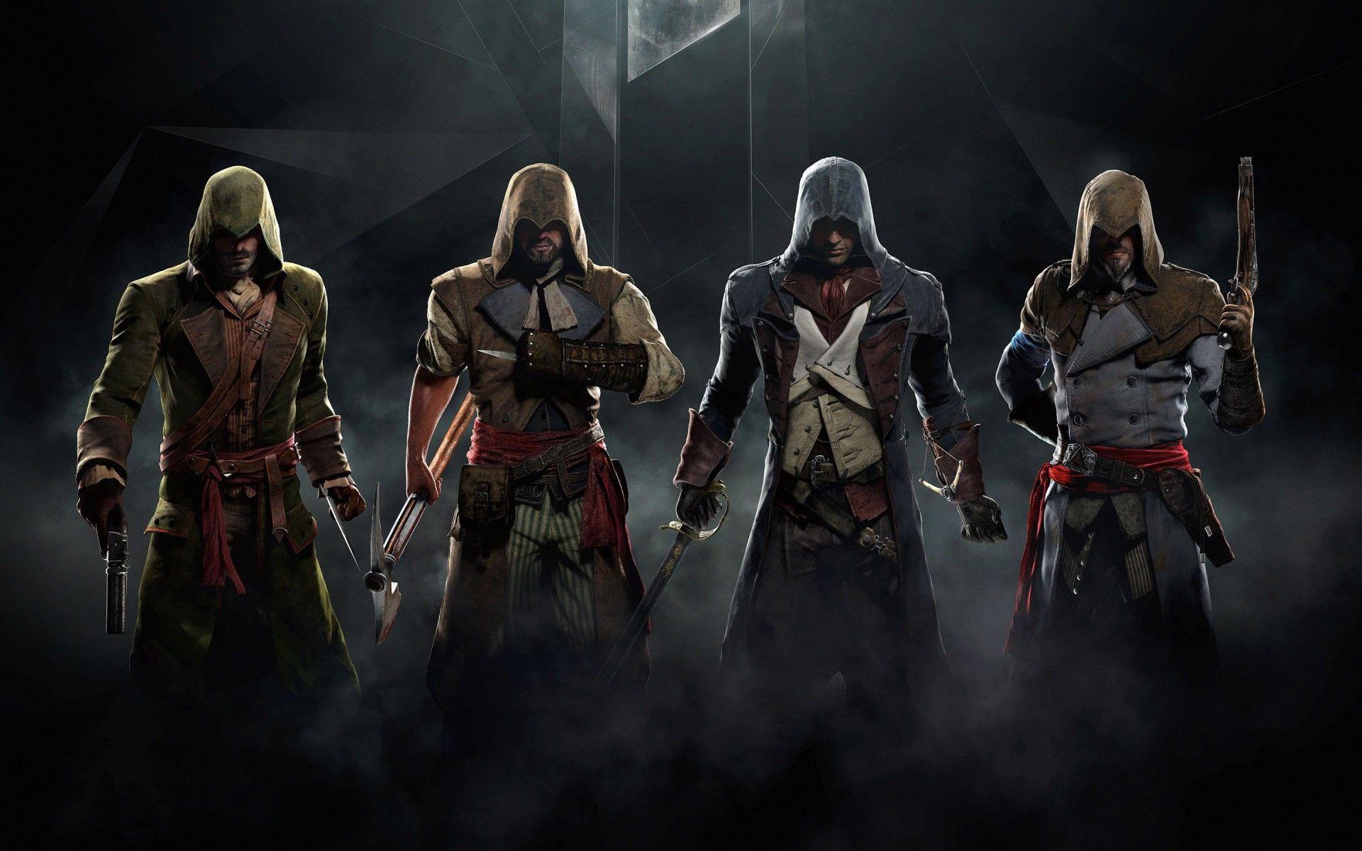 Assassin S Creed Unity Character Game Hd Wallpapers Best