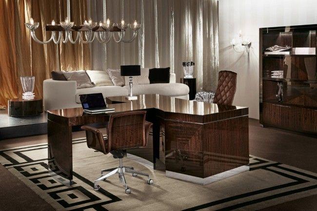 Giorgio Frontal Secretary Desk -  Contemporary  Modern