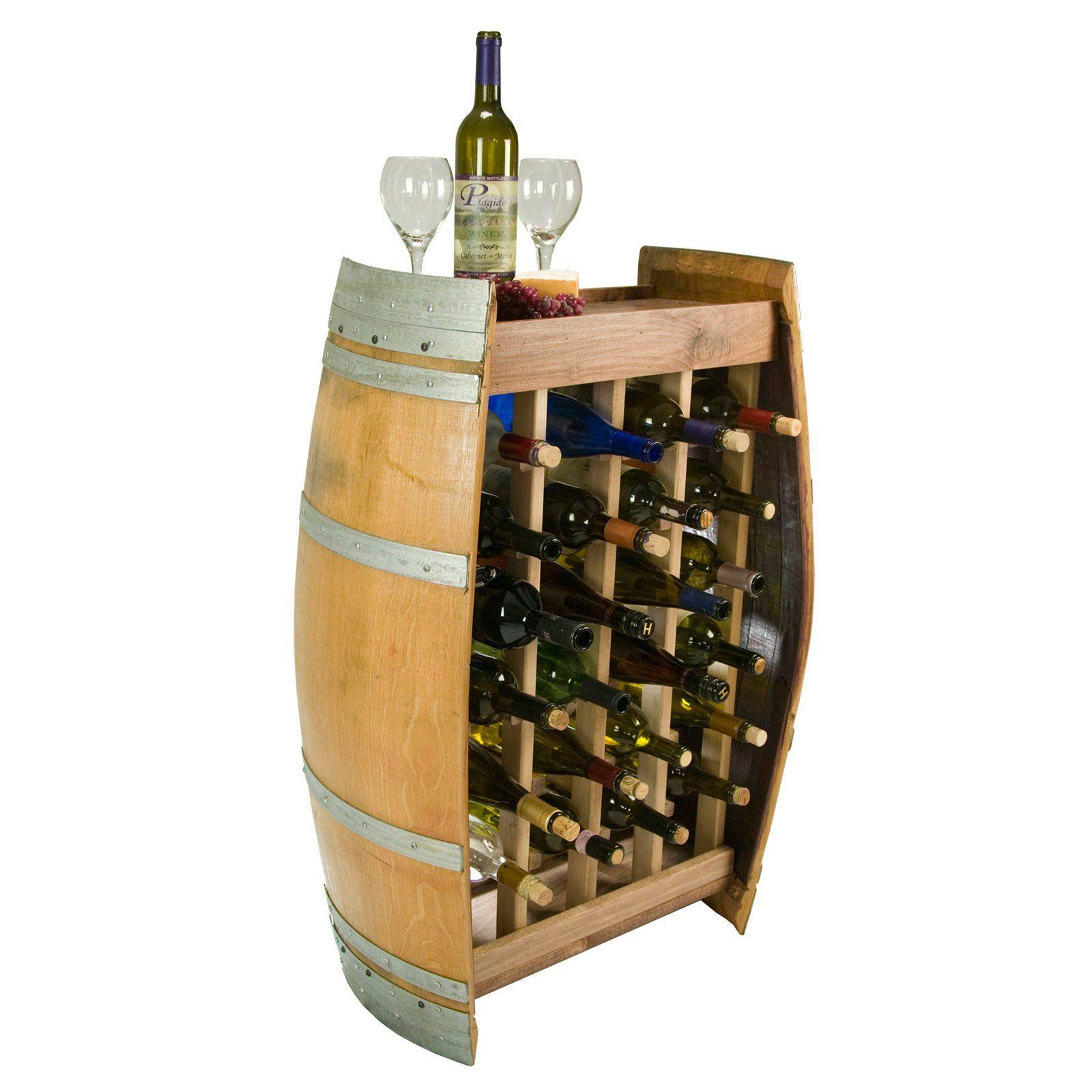 wine barrel wine rack furniture. Napa East Wine Barrel 24 Bottle Narrow Rack - $750 @ Furniture P