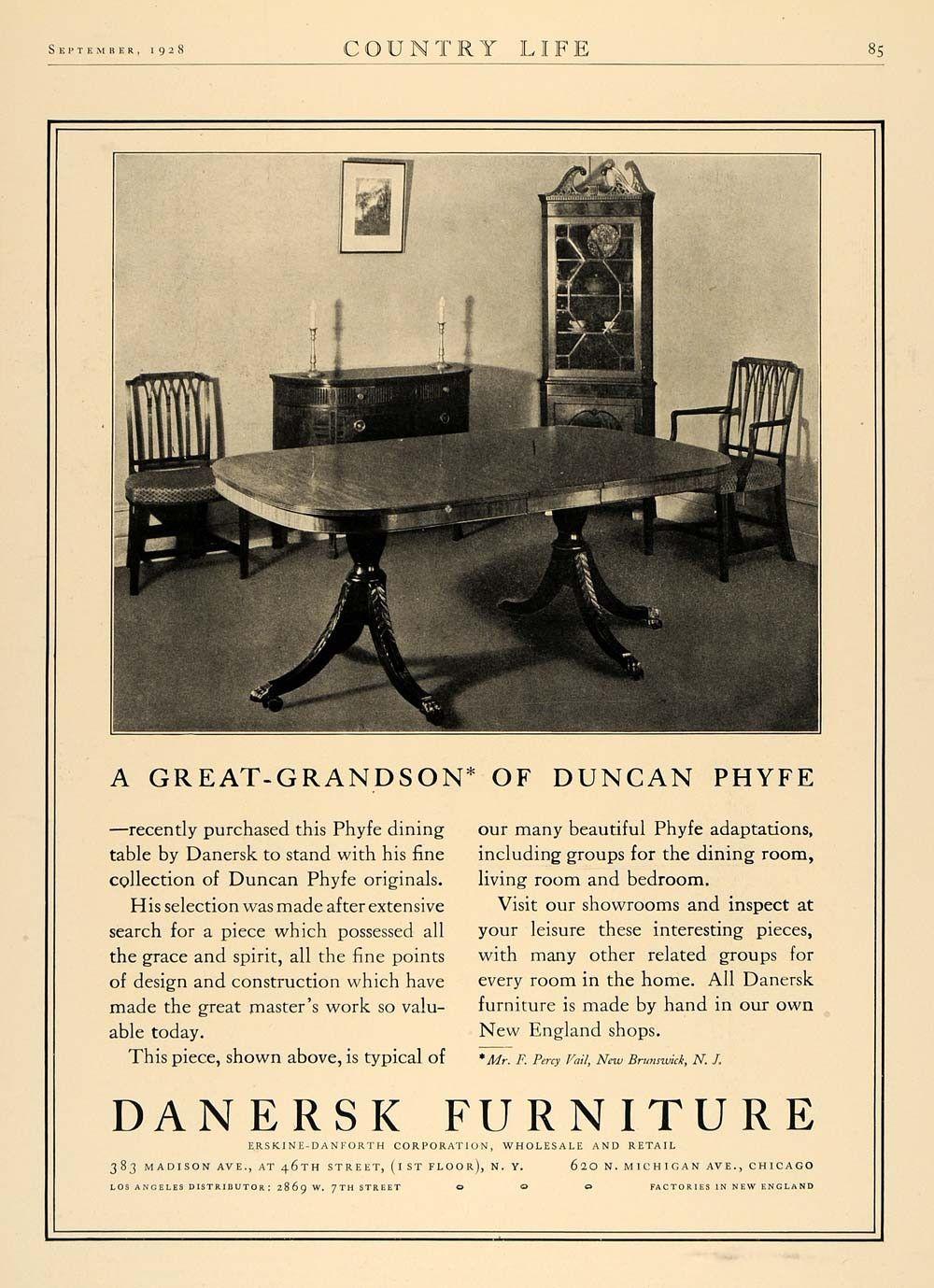 Pin On Duncan Phyfe
